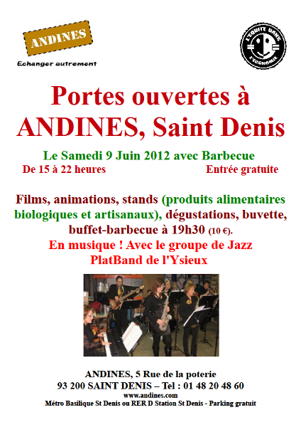 Andines Portes ouvertes